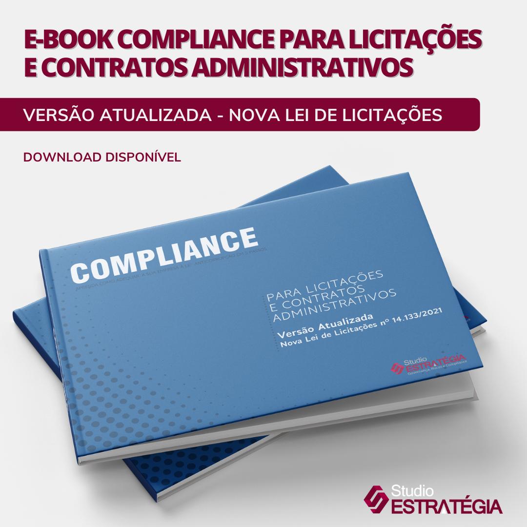 E-BOOK COMPLIANCE PARA LICITAÇÕES E CONTRATOS ADMINISTRATIVOS
